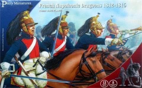 French Napoleonic Dragoons 1812-15 - Perry Miniatures (FN130) :www.mightylancergames.co.uk
