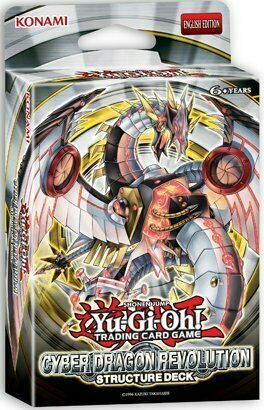 YU-GI-OH! Cyber Dragon Revolution Structure Deck