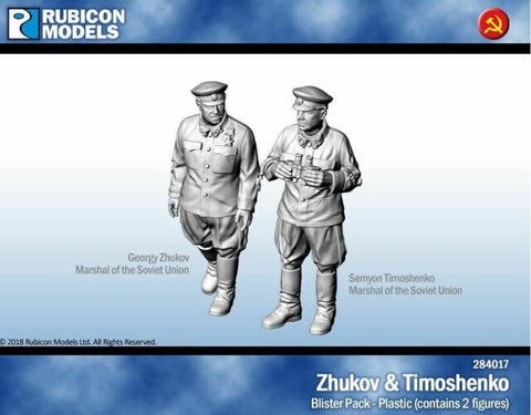 Zhukov & Timoshenko - Rubicon (284017) :www.mightylancergames.co.uk