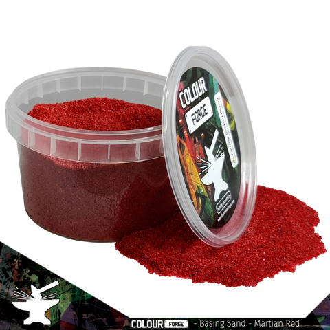 Basing Sand – – Martian Red - Colour Forge -BAS212