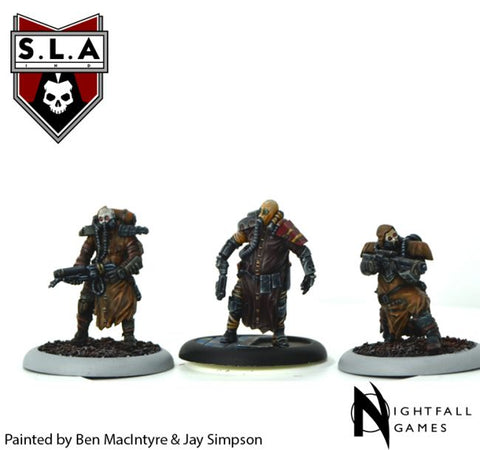 Scav Expansion - S.L.A  Cannibal Sector 1 :www.mightylancergames.co.uk