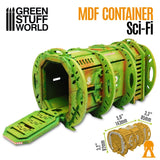 Sci-Fi Container Pod - MDF Terrain (10320) - Green Stuff World