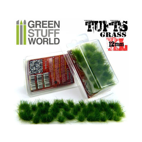 Grass Tufts XL - Dark Green - 1349- Green Stuff World