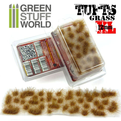 Grass Tufts XL - Dry Brown - 1623- Green Stuff World