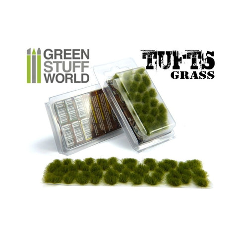 Dry Green Grass Tufts 6mm