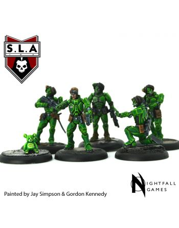 Shiver/9th Divison Starter Set - S.L.A  Cannibal Sector 1