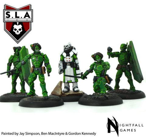 Shiver Expansion Pack - S.L.A  Cannibal Sector 1 :www.mightylancergames.co.uk