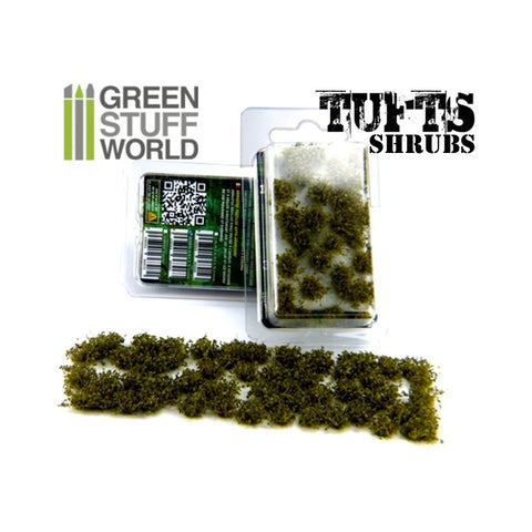 Shrub Tufts - DARK GREEN- 1306 - Green Stuff World