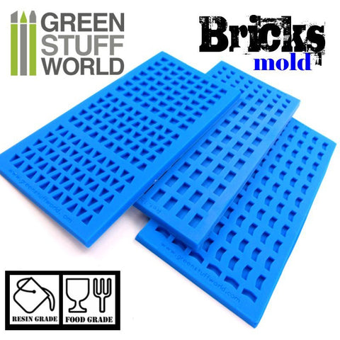 Silicone moulds - BRICKS -1507- Green Stuff World