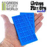 Silicone moulds - Grass Paver -1509- Green Stuff World