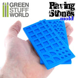 Silicone moulds - Paving stones -1508- Green Stuff World