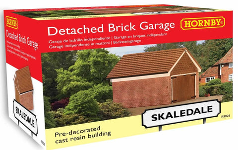 Detached Brick Garage