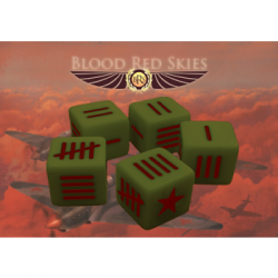 Blood Red Skies: Soviet Dice set