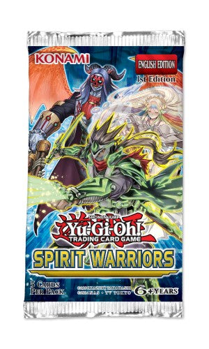 Yu-Gi-Oh! Spirit Warriors Booster Pack