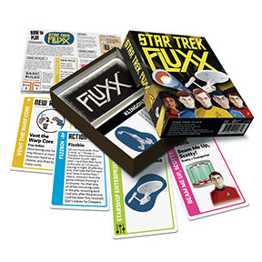 Star Trek Fluxx: www.mightylancergames.co.uk