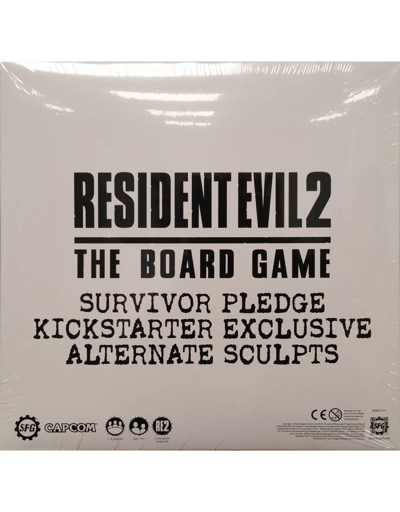 Resident Evil 2 - The Board Game - Survivor Pledge Kickstarter Exclusive Alternate Sculpts: www.mightylancergames.co.uk