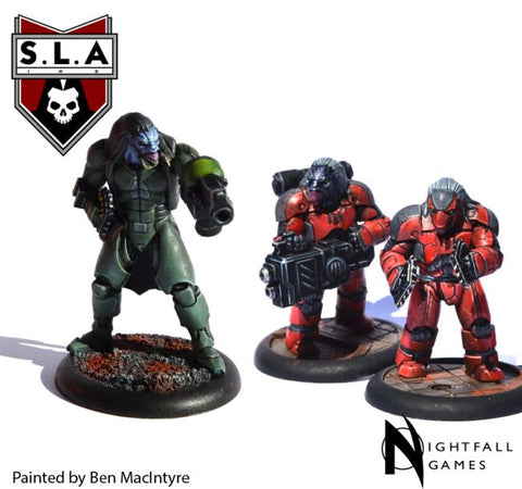Stormer Pack - S.L.A  Cannibal Sector 1 :www.mightylancergames.co.uk