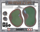 Battlefield in a Box: Swamps (BB529)