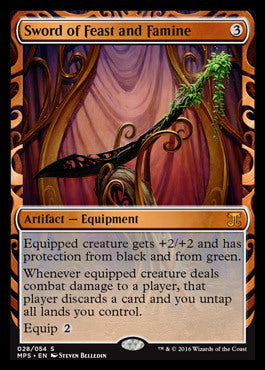 Sword of Feast and Famine (Kaladesh Inventions)
