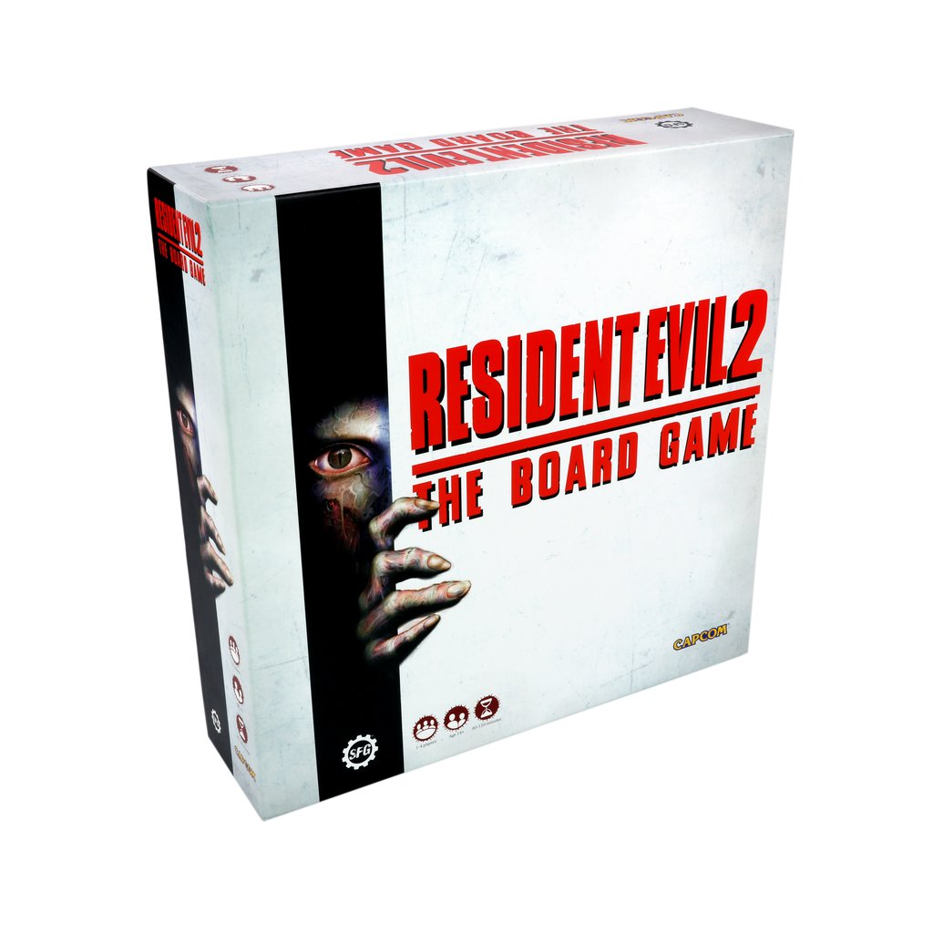 Resident Evil 2 - The Board Game: www.mightylancergames.co.uk