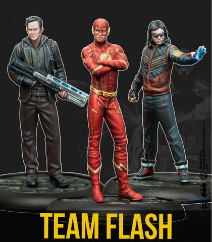 Team Flash - Batman Miniatures Game