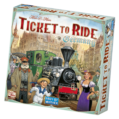 Ticket to Ride - Germany: www.mightylancergames.co.uk