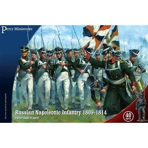 Russian Napoleonic Infantry 1809-1814 - Perry Miniatures (RN20) :www.mightylancergames.co.uk