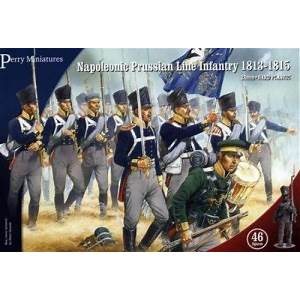 Napoleonic Prussian Line Infantry 1813-15 - Perry Miniatures (PN1) :www.mightylancergames.co.uk