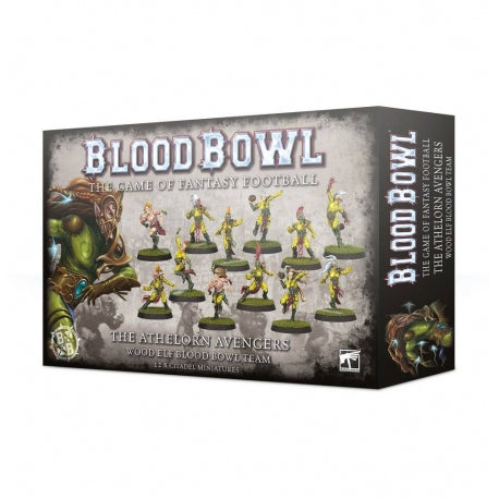 blood bowl wood elfs - www.mightylancergames.co.uk