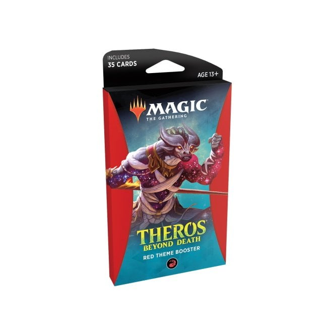 MAGIC: THE GATHERING THEROS BEYOND DEATH THEMED BOOSTER PACK - RED