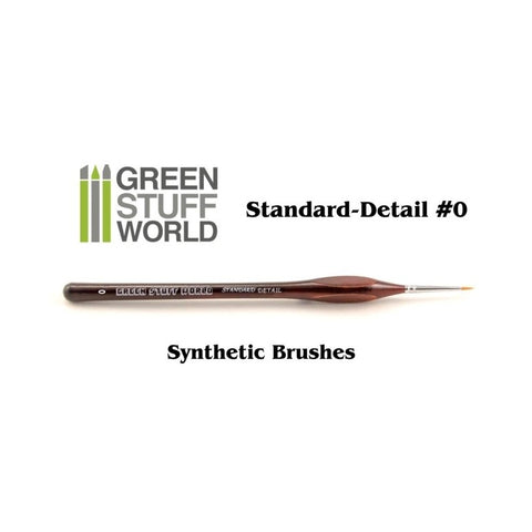 Standard Detail 0 Synthetic brush - GSWStandard Detail 0 Synthetic brush - GSW