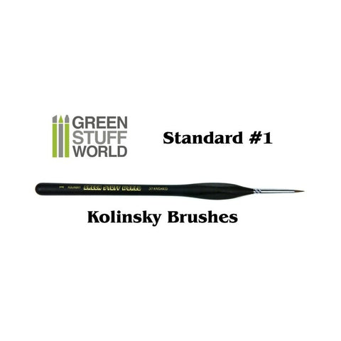 Standard Detail 1 Natural Kolinsky brush - GSW