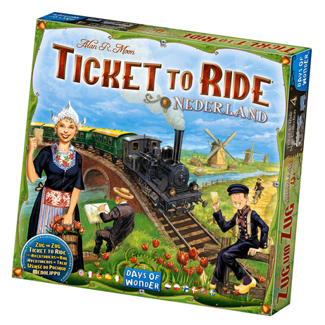 Ticket to Ride - Nederlands: Map Collection