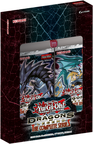 Yu-gi-oh! Dragons of Legend - The Complete Series pack