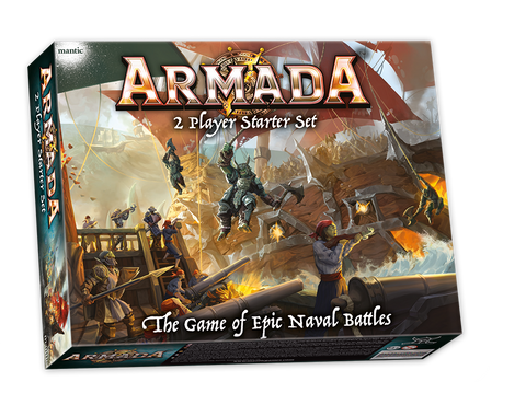 Armada 2-player Starter Set - Naval Combat in the Kings of War Universe