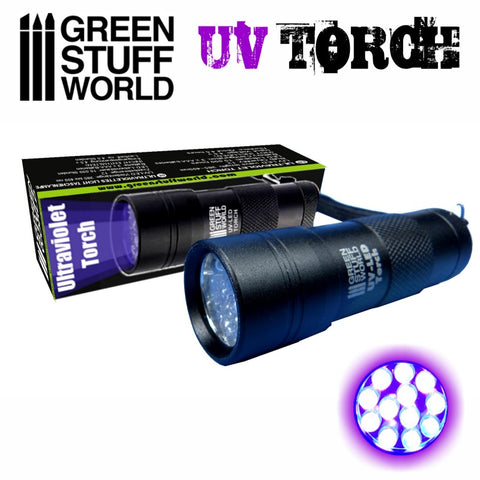 Ultraviolet Torch -1909- Green Stuff World