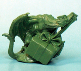 01593: 12 Days of Reaper - Wrapping Dragon by Julie Guthrie: www.mightylancergames.co.uk