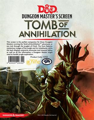 Tomb of Annihilation DM Screen (Dungeons and Dragons 5th Edition) :www.mightylancergames.co.uk
