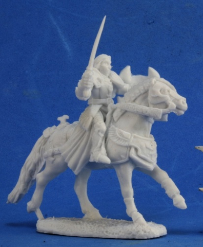77354: Sir Danel, Mounted Crusader UK Reaper miniature stockist