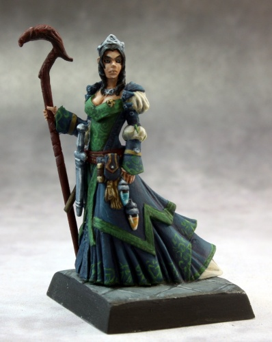 Reaper Pathfinder Miniatures - 60138 - Sheila Heidmarch, Venture Captain: www.mightylancergames.co.uk