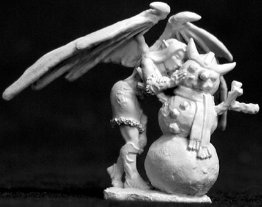 Reaper 01405 - 2001 Christmas Sophie by Werner Klocke: www.mightylancergames.co.uk