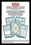 Spellbook Cards Xanathars (D&D 5th Edition): www.mightylancergames.co.uk