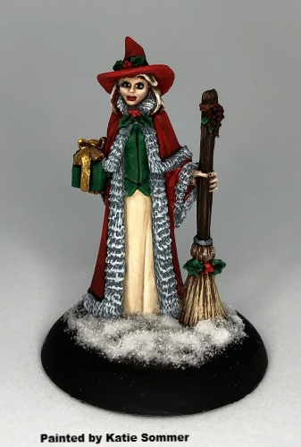 01632: 12 Days of Reaper - Christmas Witch by Bob Ridolfi: www.mightylancergames.co.uk