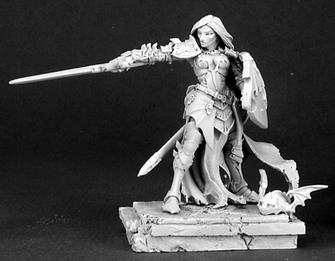 01444: Monique DeNoir (54mm) by Werner Klocke: www.mightylancergames.co.uk