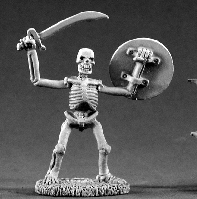 02213: Skeleton Swordsman by Ed Pugh