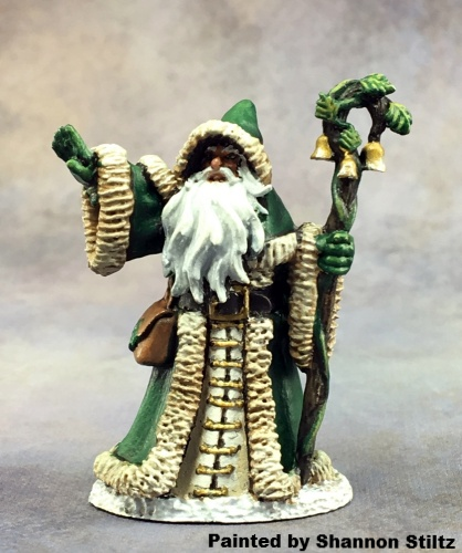 Reaper Dark Haven Legends 01589 - 12 Days of Reaper - Father Christmas by Bobby Jackson: www.mightylancergames.co.uk