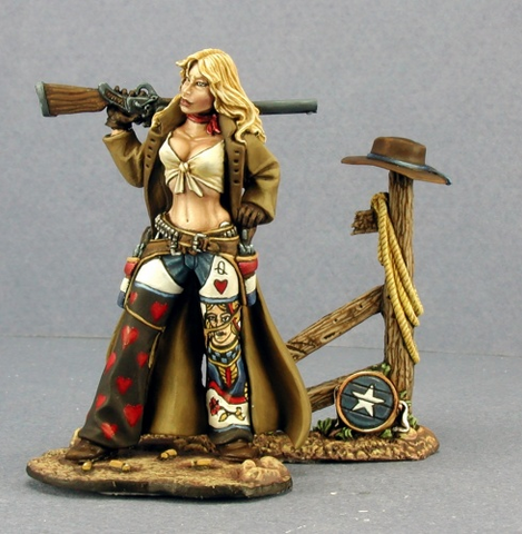 Ellen Stone Cowgirl (54mm): www.mightylancergames.co.uk