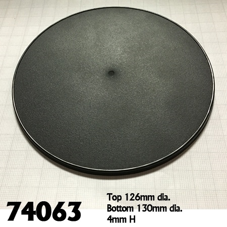 74063: 130mm Round Gaming Base