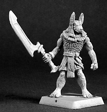 reaper miniature uk stockist 14390: Anubis Guard