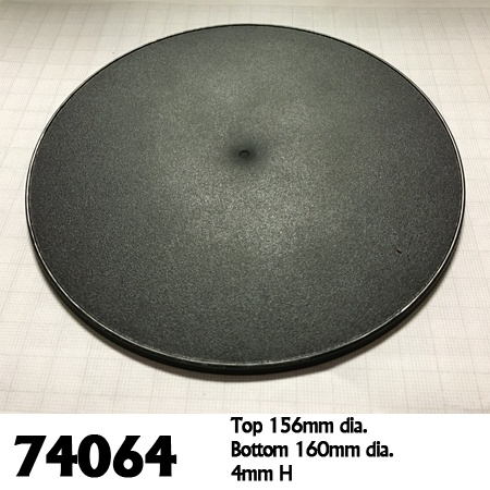 74064: 160mm Round Gaming Base